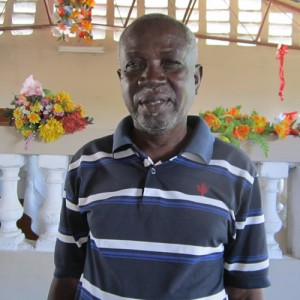 Adrien Saget-Haitian School Teacher, part of the Haiti School project