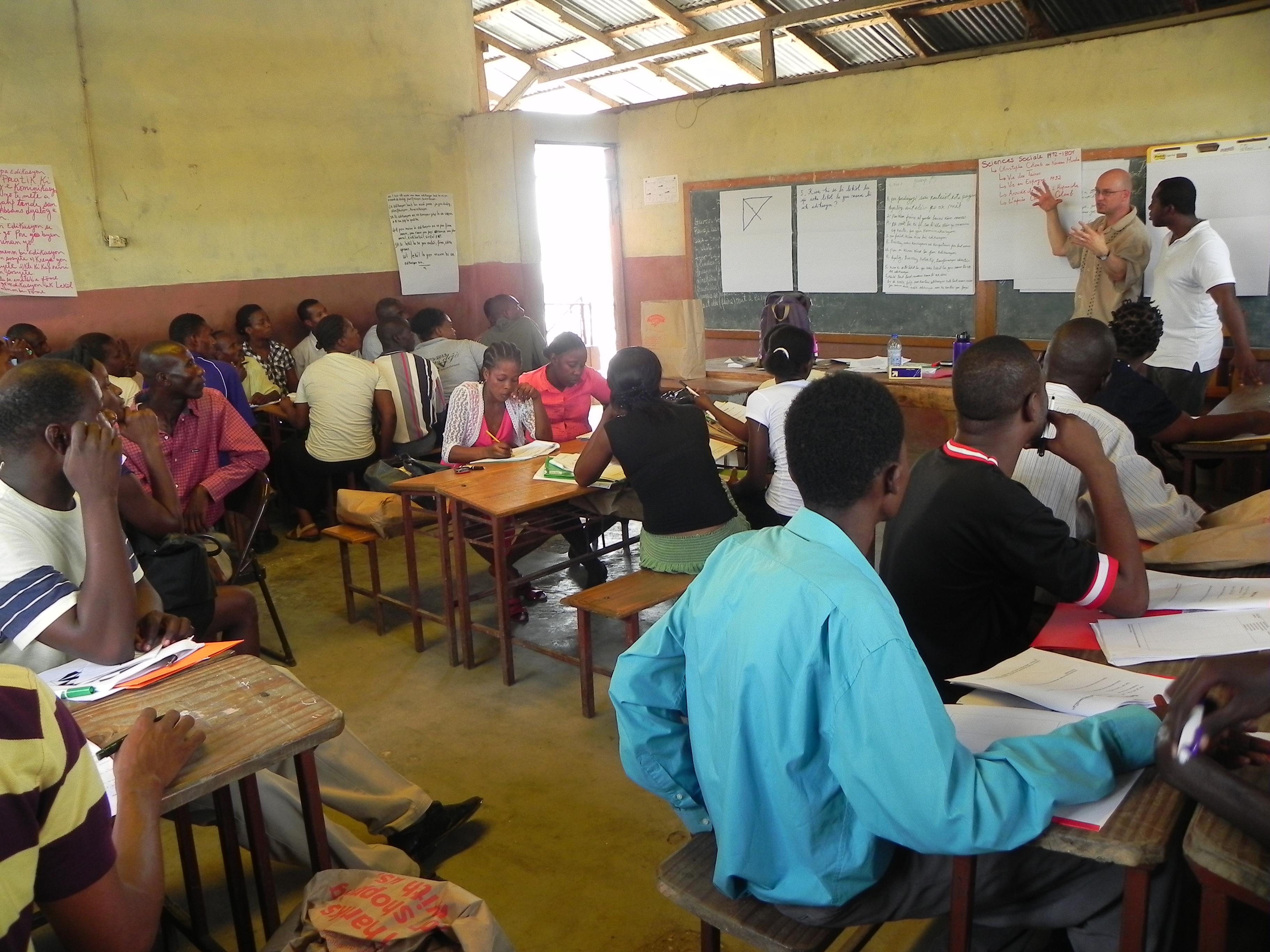 Teacher Training in Villard 2012